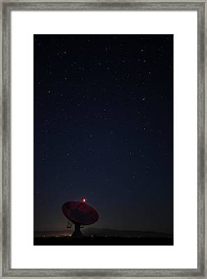 Looking To The Heavens Framed Print by Andrew Soundarajan