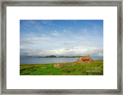 Looking To The Summer Isles Framed Print by John Kelly