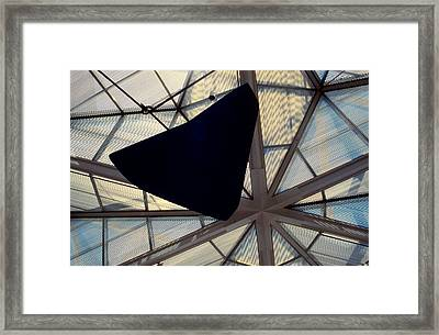 Looking Up At The East Wing Framed Print