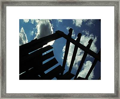 ...looking Up... Framed Print