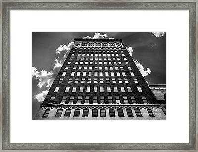Looking Up Framed Print by Lee Wellman