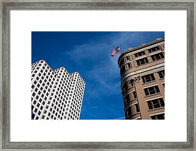 Looking Up Framed Print by Mark Weaver