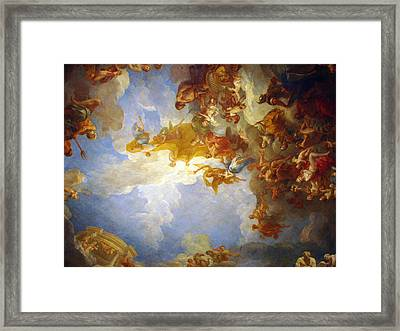 Framed Print featuring the photograph Looking Up by Meaghan Troup