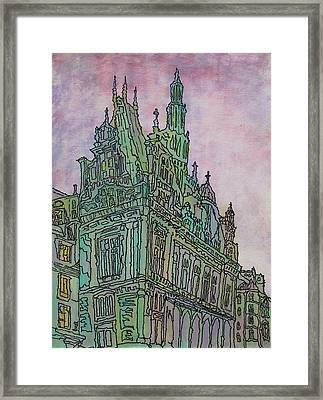 Looking Up  Framed Print by Oscar Penalber