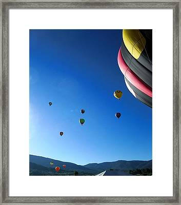 Looking Up Framed Print by Stephen Schaps