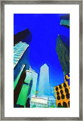 Looking Up Framed Print by Yury Malkov