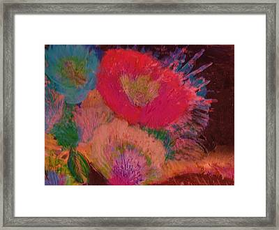 Looking Upwards Framed Print by Anne-Elizabeth Whiteway