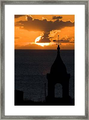 Framed Print featuring the photograph Looking West by Brad Brizek