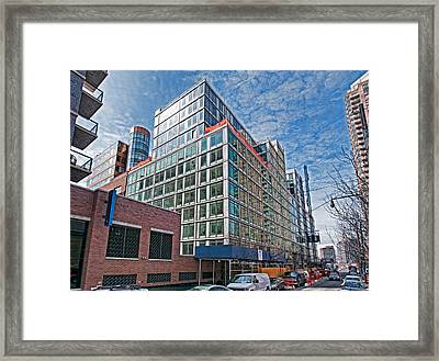 Looking West Framed Print