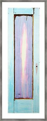 Looking Within Door Framed Print