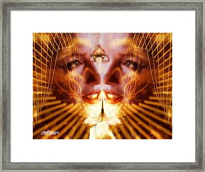 Looking Yourself In The Eye Framed Print by Seth Weaver