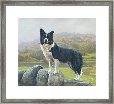 Lookout Framed Print by John Silver