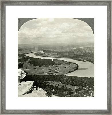 Lookout Mountain, C1920 Framed Print by Granger