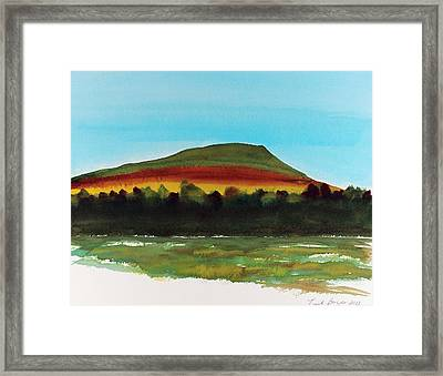 Framed Print featuring the painting Lookout Mountain Tn by Frank Bright