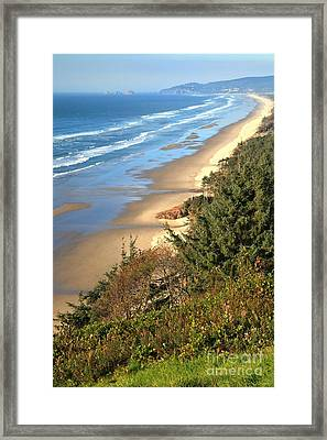 Lookout Over The Cape Framed Print
