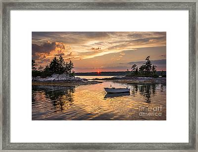 Lookout Point Framed Print