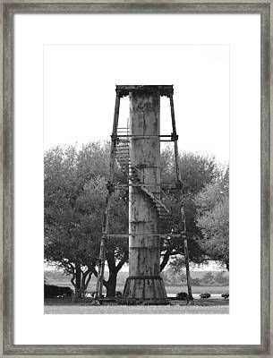 Lookout Tower Framed Print by Cynthia Guinn