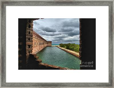 Lookout Window Framed Print by Adam Jewell