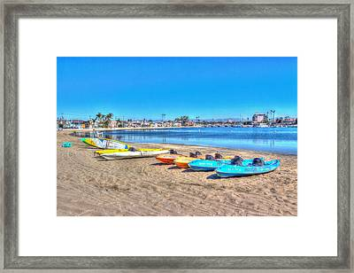 Looks And Feels Like Summer Framed Print by Heidi Smith