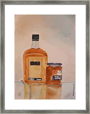 Framed Print featuring the painting Looks Can Be Deceiving by Geeta Biswas
