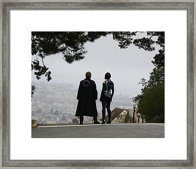 Looks Good Framed Print