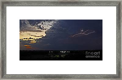 Looks Like Time To Call This Off Framed Print by Gary Holmes