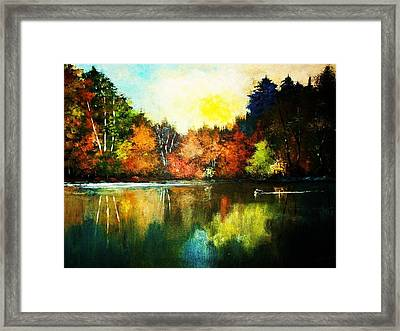 Loon Country Framed Print