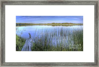 Loon Lake Framed Print by Twenty Two North Photography