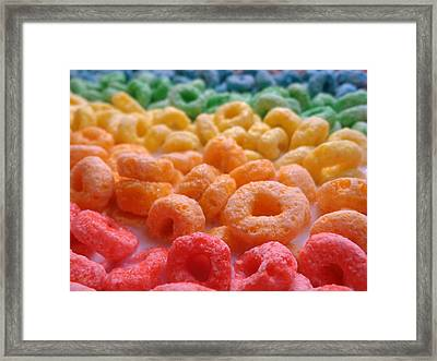 Loops Framed Print