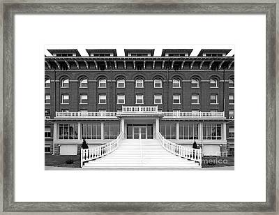 Loras College Keane Hall Framed Print by University Icons