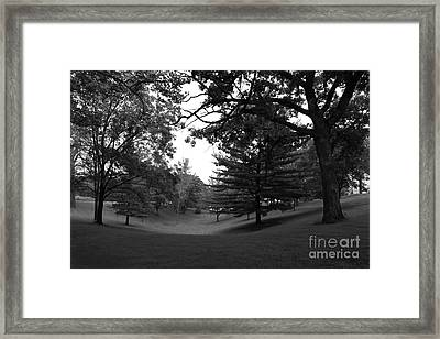 Loras College Landscape Framed Print by University Icons