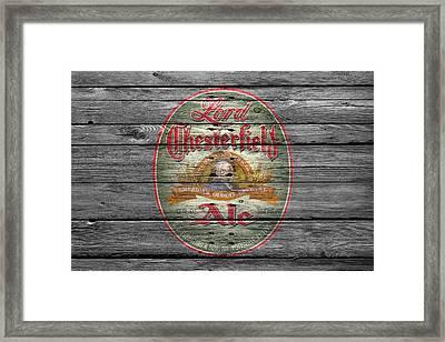 Lord Chesterfield Ale Framed Print by Joe Hamilton
