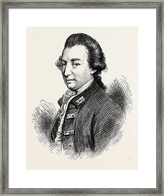 Lord Cornwallis Was A British Army Officer And Colonial Framed Print by English School