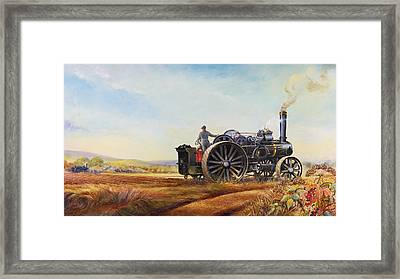 Lord Kitchener And General French Framed Print by Dudley Pout
