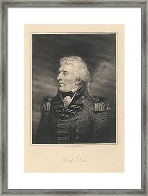 Lord Lake Framed Print by British Library