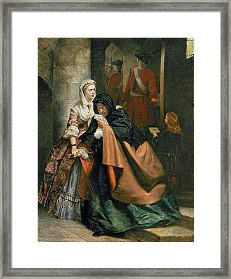 Lord Nithsdale, Escape From The Tower Framed Print