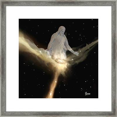 Lord Of Creation Framed Print by Julie Grace