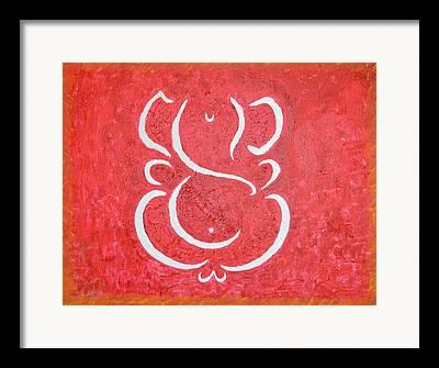 Vinayaka Framed Prints