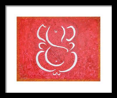 Ganesh Chaturthi Framed Prints