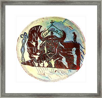Lord Of The Dance Framed Print by Gloria Ssali