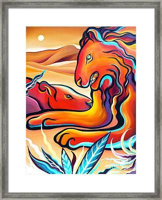 Lord Of The Desert Framed Print