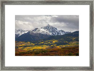 Lord Of The Divide Framed Print