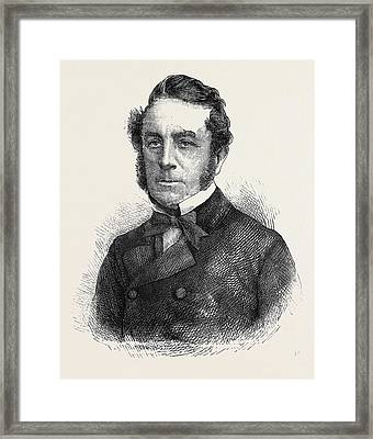 Lord Ohagan Of Tullahouge Framed Print by English School