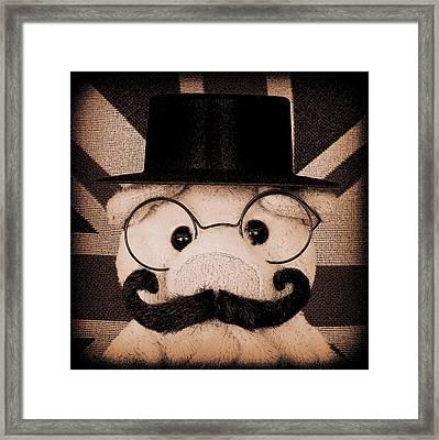 Lord Piggy Hoggington- Smythe Framed Print