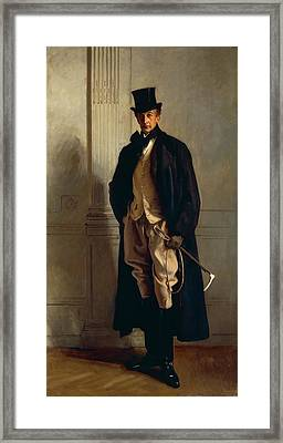 Lord Ribblesdale Framed Print by John Singer Sargent