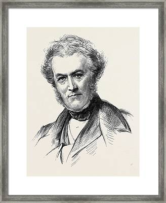 Lord Romilly Late Master Of The Rolls 1873 Framed Print