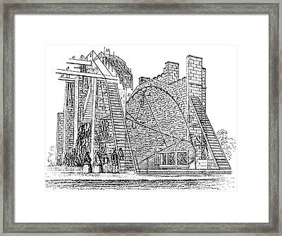 Lord Rosse's Reflecting Telescope Framed Print