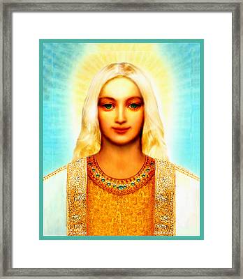 Lord Sananda Framed Print