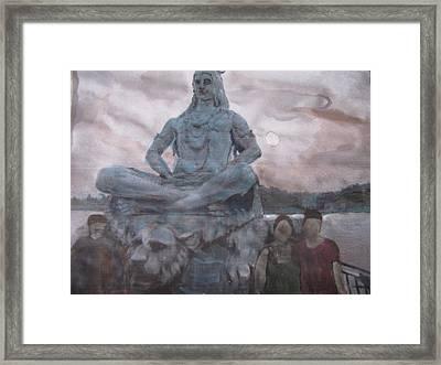 Lord Shiva Framed Print