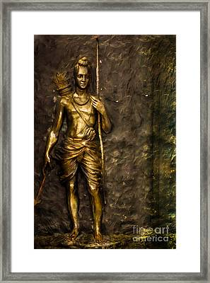 Lord Sri Ram Framed Print